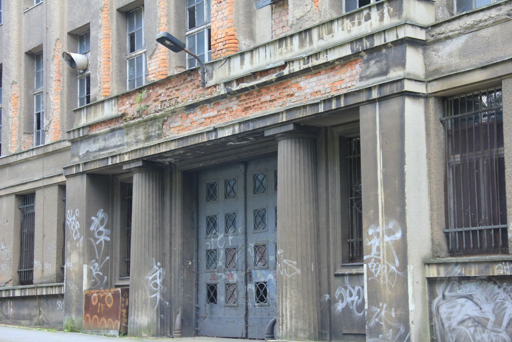 Entrance Robur-Werke, Zittau