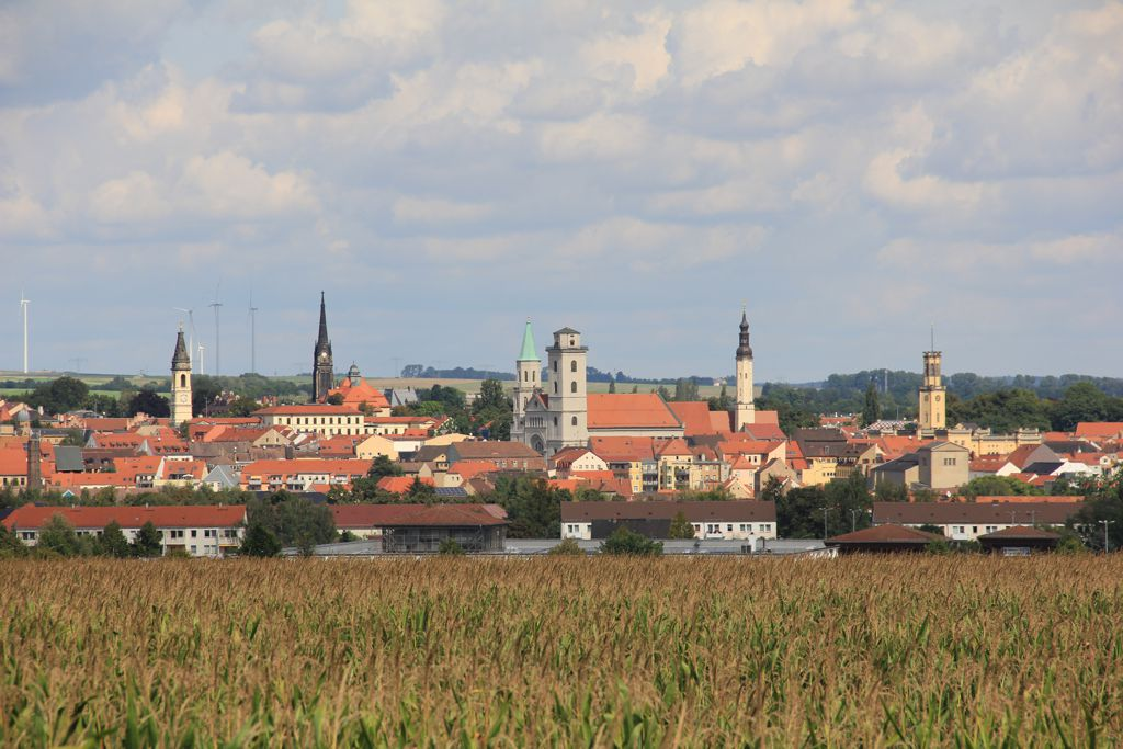 Zittau is a small town near the border triangle of Poland, Czech Republic and Germany