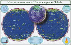 Das menschliche Genom als virtueller Planet