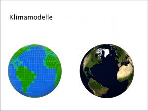Klimamodelle - Titelbild
