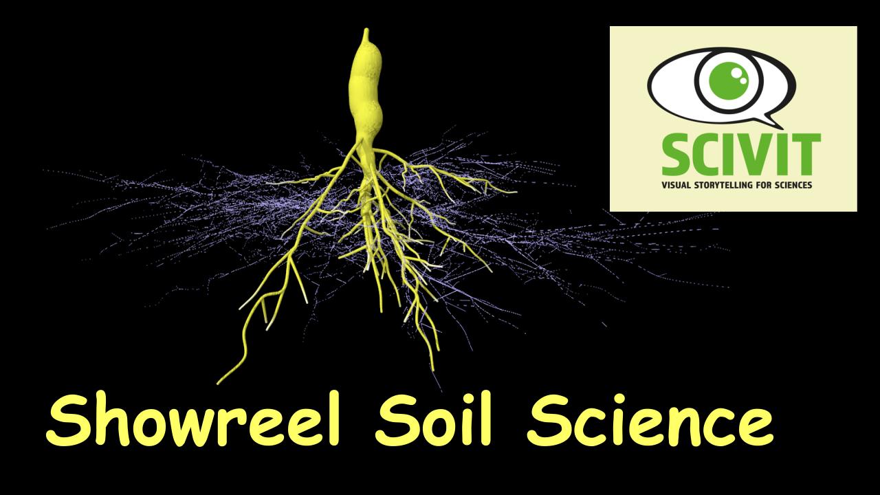 Filme für die Wissenschaftskommunikation - Scivit: Showreel Soil Science