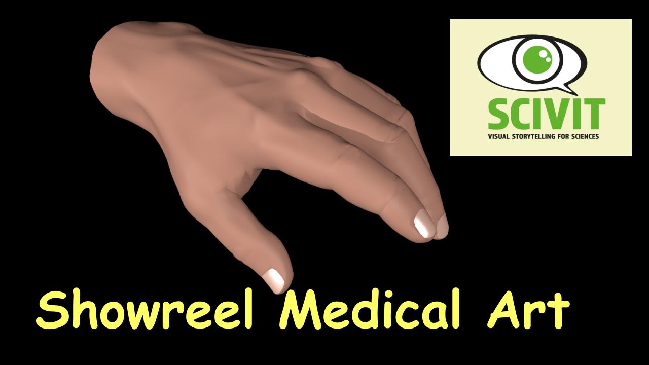 Filme für die Wissenschaftskommunikation - Scivit: Showreel Medical Art