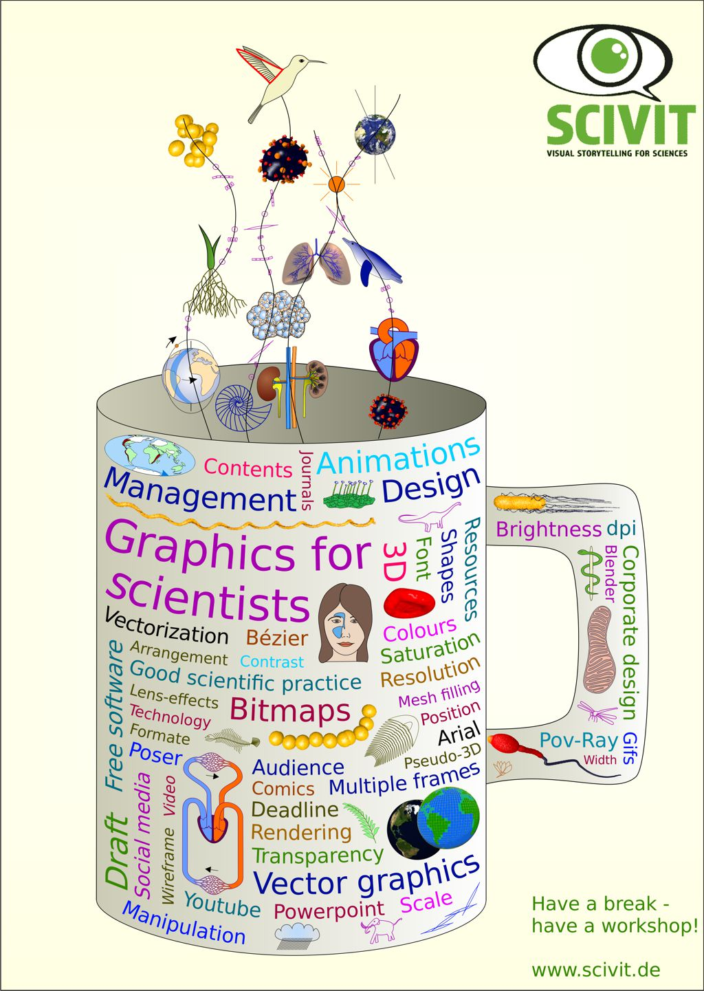 Poster Science Graphics